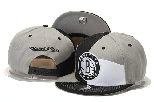Brooklyn Nets Snapback Hat GS 0620
